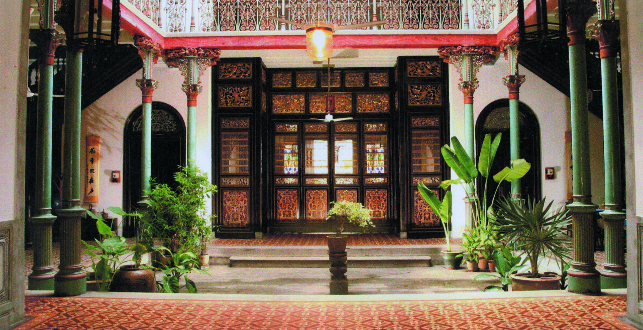 Cheong Fatt Tze mansion interior