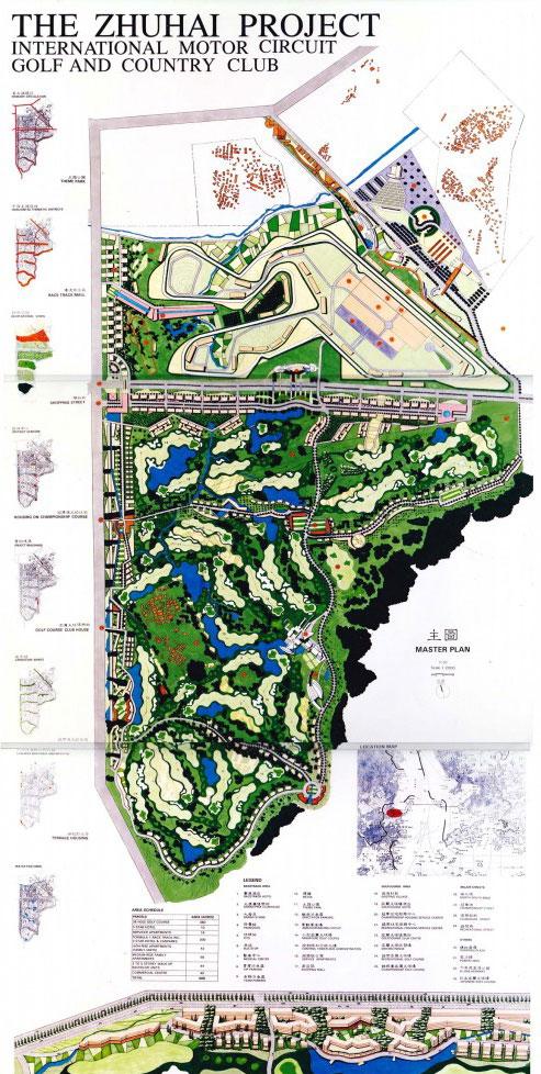 Arkitek lla zhuhai masterplan for Plan arkitek